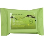 Салфетки для снятия макияжа Nature Republic Jeju Sparkling Cleansing Tissue