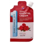 Крем с улиточным муцином Eyenlip Pocket Pouch Line Snail Essential Cream