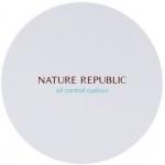 Тональный кушон для жирной кожи Nature Republic Provence Air Skin Fit Oil Control Cushion SPF50+ PA+++