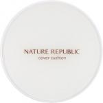 Тональный кушон с ниацинамидом и аденозином Nature Republic Nature Origin Cushion Cover SPF50+ PA+++