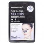 Полоски для носа с древесным углем MBeauty Charcoal Nose Strips
