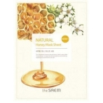 Маска для лица с экстрактом меда тканевая The Saem Natural Honey Mask Sheet