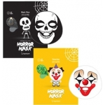 Тканевая маска с экстрактом зеленого чая Berrisom Horror Mask Series