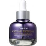 Сыворотка для лица с экстрактом икры Deoproce Caviar Shining Turn Over Ampoule