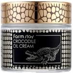 Крем для лица с жиром крокодила FarmStay Crocodile Oil Cream