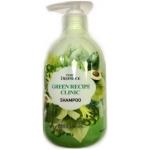 Шампунь для укрепления корней волос Deoproce Pure Green Recipe Clinic Shampoo