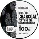 Многофункциональный гель с древесным углём Lebelage Moisture Charcoal 100% Soothing Gel