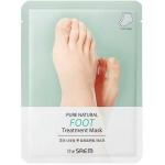 Маска-носочки для ног The Saem Pure Natural Foot Treatment Mask