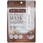 Маска для лица с коллагеном Japan Gals Collagen Essenсe Mask