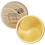 Патчи для век с экстрактом муцина улитки The Saem Gold Snail Eye Gel Patch Set