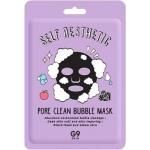 Пузырьковая тканевая маска для очищения пор G9Skin Self Aesthetic Poreclean Bubble