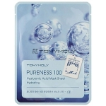 Тканевая маска с гиалуронатом натрия Tony Moly Pureness 100 Mask Sheet Shea Hyaluronic Acid