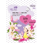 Шелковая маска Mijin Cosmetics MJ CARE Daily Dewy Silk Mask Pack