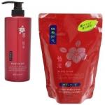 Жидкое мыло для тела с камелией Kumano Cosmetics Shiki-Oriori Body Soap