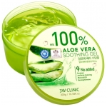 Гель для тела с экстрактом алоэ вера 3W Clinic Aloe Vera Soothing Gel 100%