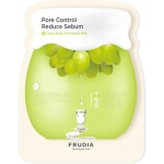 Себорегулирующая тканевая маска с экстрактом винограда Frudia Green Grape Pore Control Mask
