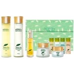 Набор для лица уходовый Deoproce Premium Green Tea Total Solution 5 Set