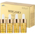 Ампульная сыворотка с золотом и икрой Bergamo Luxury Gold Caviar Wrinkle Care Intense Repair Ampoule