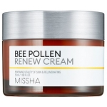 Крем для лица с пчелиной пыльцой Missha Bee Pollen Renew Cream