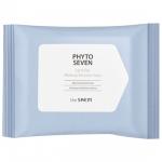 Салфетки для снятия макияжа с губ и глаз The Saem Phyto Seven Lip and Eye Makeup Remover Pad