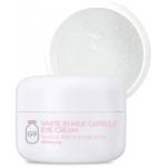 Отбеливающий крем для кожи вокруг глаз Berrisom G9 White In Milk Capsule Eye Cream