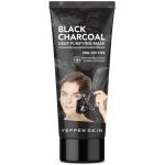 Очищающая маска-пленка с экстрактом древесного угля Yeppen Skin Black Charcoal Deep Purifying Mask Peel-off Type
