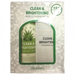 Очищающая вода с экстрактом алоэ Deoproce Clean and Brightening Aloe Cleansing Water