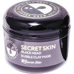 Очищающая пузырьковая маска для лица Secret Skin Black Head Bubble Clay Mask