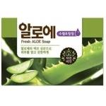 Мыло с экстрактом алое Mukunghwa Fresh Aloe Soap