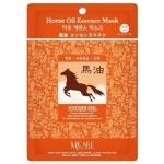 Листовая маска Mijin Cosmetics Horse Oil Essence Mask