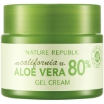 Гель-крем из калифорнийского алоэ вера Nature Republic California Aloe Vera 80% Gel Cream