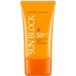Солнцезащитный крем с алоэ Nature Republic California Aloe Daily Sun Block SPF 50 PA++++