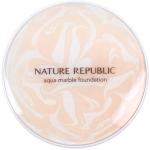 Тональная основа-мусс с цветочными экстрактами Nature Republic Nature Origin Aqua Marble Foundation SPF50+ PA+++