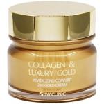 Омолаживающий крем для лица с коллагеном и коллоидным золотом 3W Clinic Collagen and Luxury Gold Cream