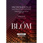 Микроигольные патчи  от морщин для лба с змеиным пептидом Blom Syn Ake Microneedle Patches for Forehead