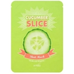 Огуречные маски-слайсы A'Pieu Cucumber Slice Sheet Mask