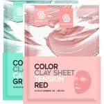 Глиняная маска для лица листовая G9Skin Color Clay Sheet