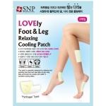 Охлаждающие расслабляющие патчи для ног и ступней SNP Foot And Leg Relaxing Cooling Patch
