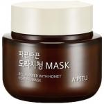 Маска для лица с медом согревающая A'pieu Bellflower With Honey Heating Mask