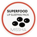 Бальзам-ночная маска для губ Missha Super Food Black Bean Lip Sleeping Pack