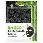 Очищающая тканевая маска с углём G9Skin Bamboo Charcoal Mask