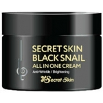 Универсальный крем с муцином чёрной улитки Secret Skin Black Snail All in One Cream