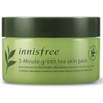 Маска для лица с зеленым чаем Innisfree 3-Minute Green Tea Skin Pack