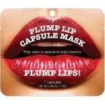 Капсульная маска для увеличения объема губ Kocostar Plump Lip Capsule Mask Pouch