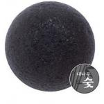 Угольный спонж конняку The Saem 100% Charcoal Jelly Cleansing Puff