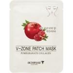 Подтягивающая маска для подбородка Skinfood Pomegranate Collagen V-Zone Patch Mask