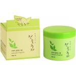 Очищающий крем для лица Welcos Green Tea Fresh Cleansing Cream
