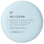 Компактная пудра The Face Shop Oil Clear Smooth&Bright Pact