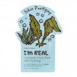 Тканевая маска для лица с водорослями Tony Moly  I'm Real Seaweeds Mask Sheet