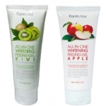Пилинг-гель для лица FarmStay All In One Whitening Peeling Gel
